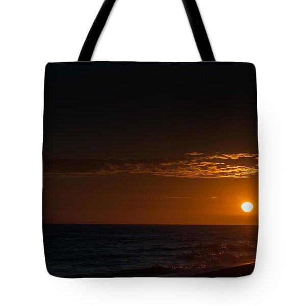 Newport Beach Sunset Tote Bag