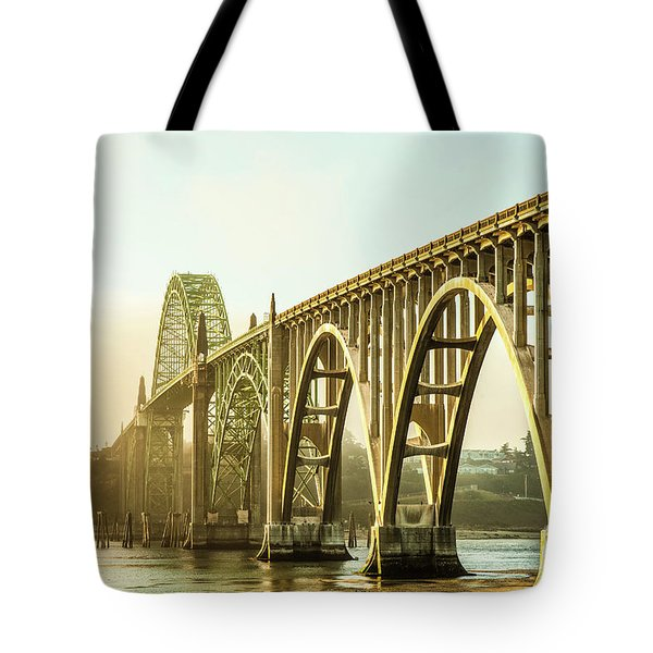 Newport Bridge Tote Bag