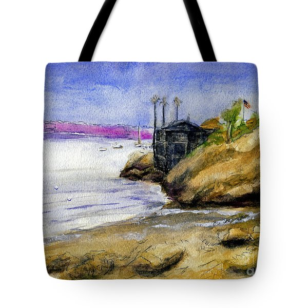 Newport Channel Tote Bag by Randy Sprout