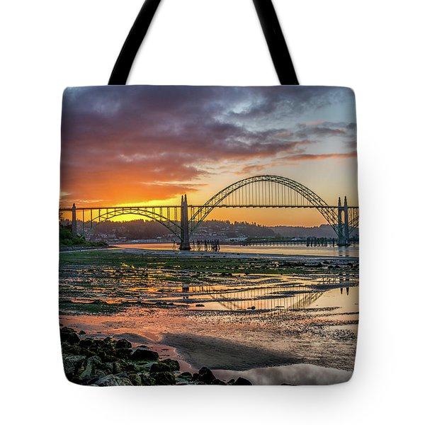 Newport Or Greeting Tote Bag