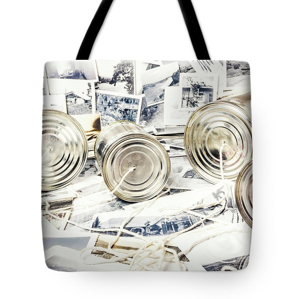 News Room Switchboard Tote Bag