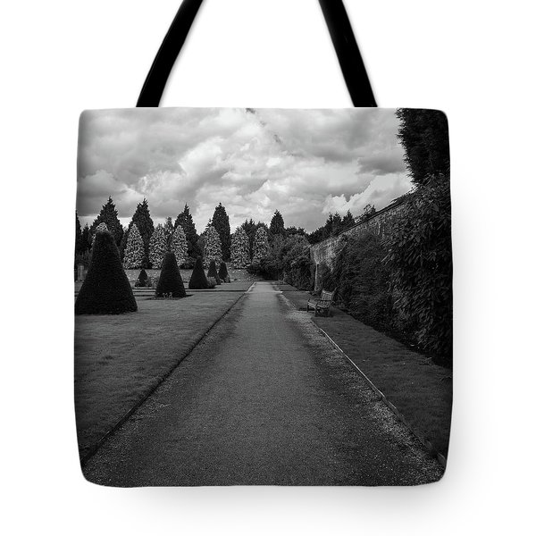 Newstead Abbey Country Garden Gravel Path Tote Bag