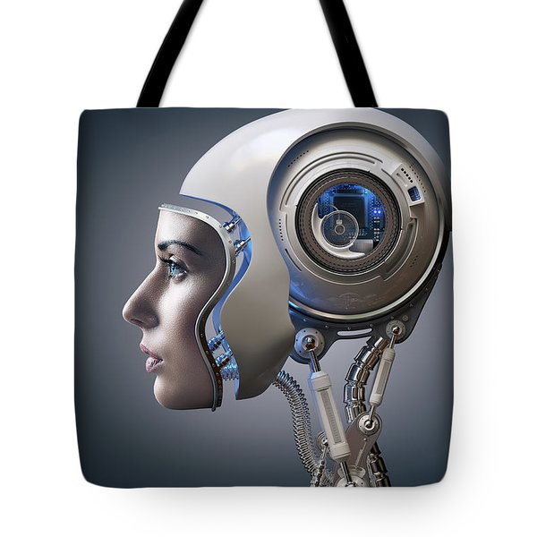 Next Generation Cyborg Tote Bag