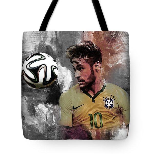 Neymar 051a Tote Bag by Gull G