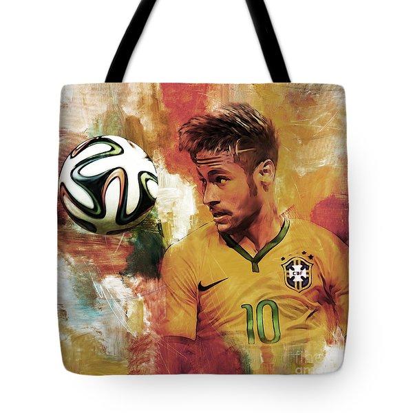 Neymar 05d Tote Bag by Gull G