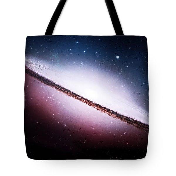 Ngc 2035 Magellanic Cloud Galaxy Tote Bag