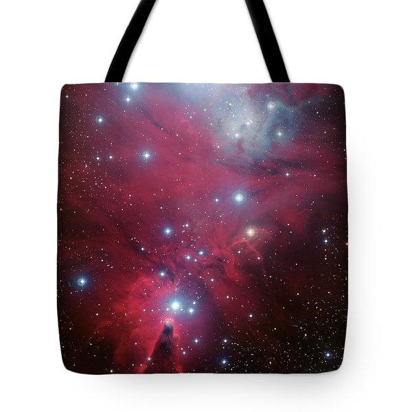 Tote Bag featuring the photograph Ngc 2264 And The Christmas Tree Star Cluster by Eso