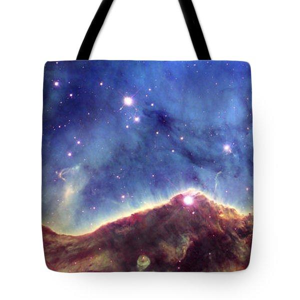 Ngc 3324  Carina Nebula Tote Bag by Nicholas Burningham