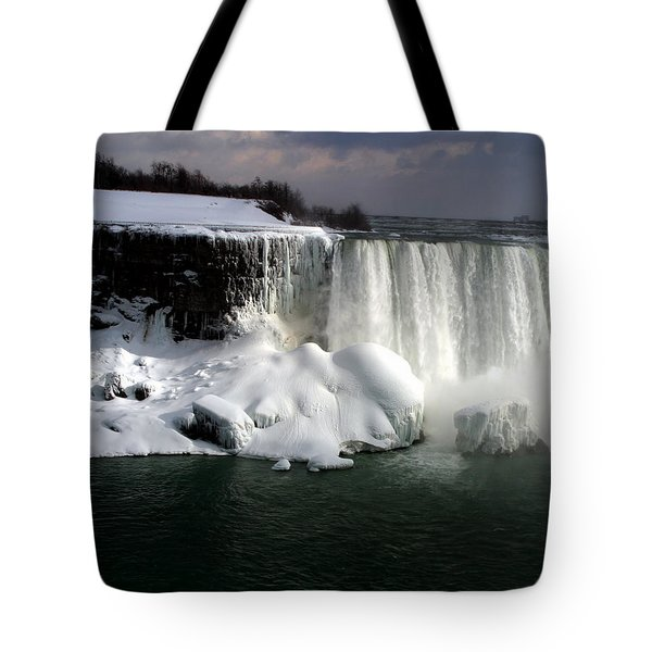 Niagara Falls 6 Tote Bag by Anthony Jones