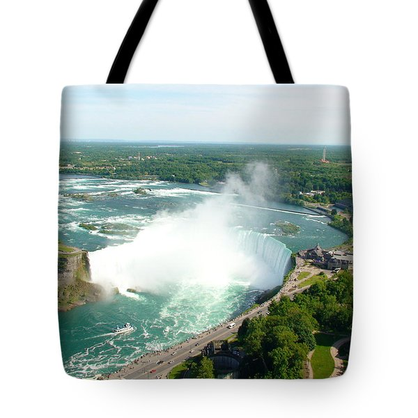 Tote Bag featuring the photograph Niagara Falls Ontario by Charles Kraus