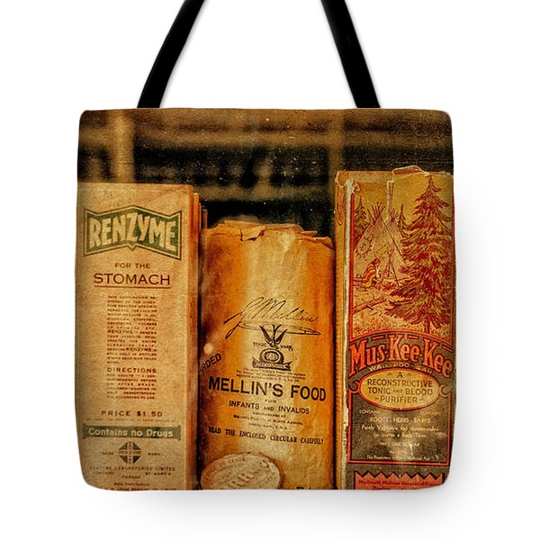 Tote Bag featuring the photograph Niagara On The Lake Pharmacy by Mary Timman