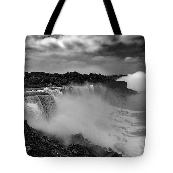 Tote Bag featuring the photograph Niagra Falls by Jason Moynihan