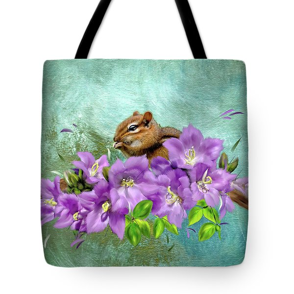 Nibbler Tote Bag by Mary Timman
