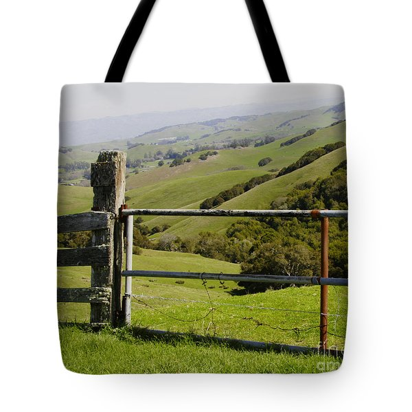 Nicasio Overlook Tote Bag
