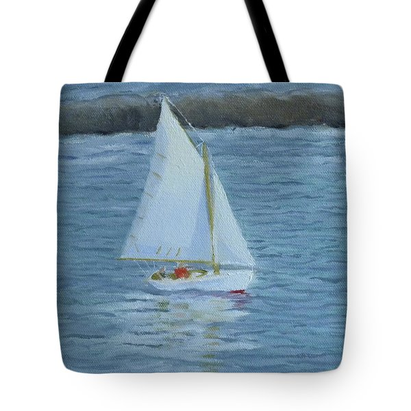 Nice Day For A Sail Tote Bag