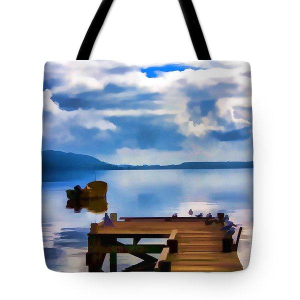 Nice Dock Tote Bag