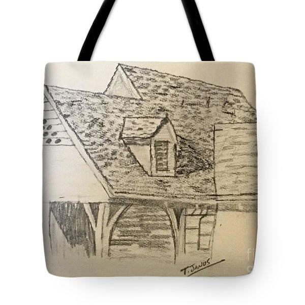 Nice Lines Tote Bag