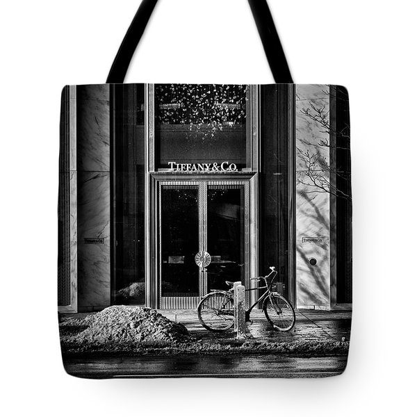 Nice Place To Have Breakfast Tote Bag by Brian Carson