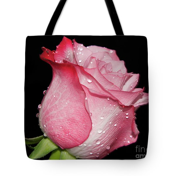 Tote Bag featuring the photograph Nice Rose by Elvira Ladocki