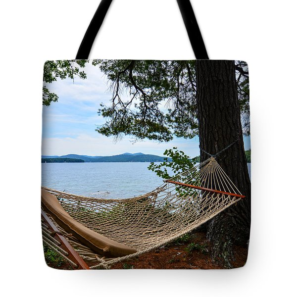 Nice Spot For A Nap Tote Bag by Mim White