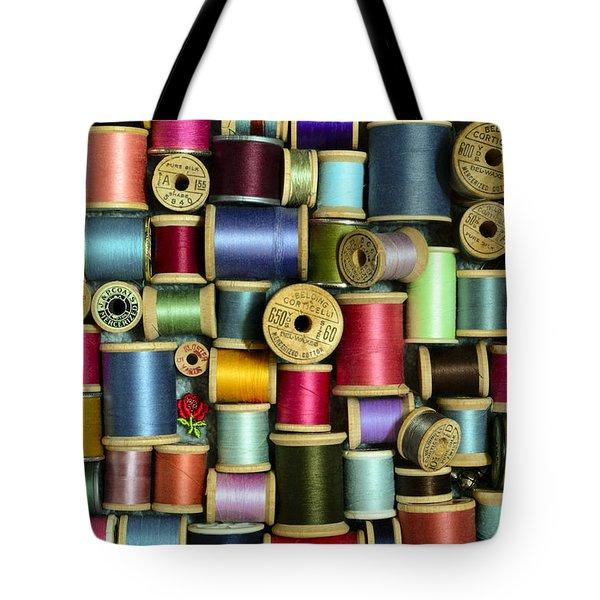 Nice Threads Tote Bag
