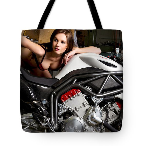 Nice View Tote Bag by Lawrence Christopher