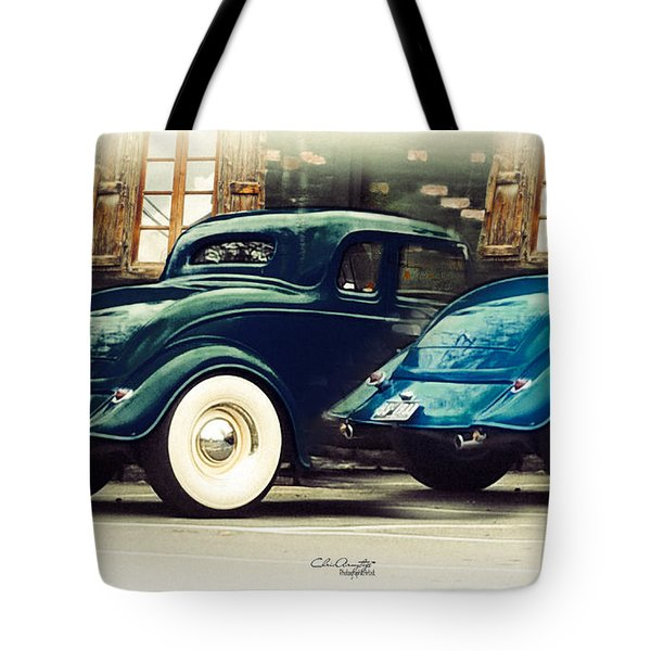 Tote Bag featuring the photograph Nice Wheels by Chris Armytage