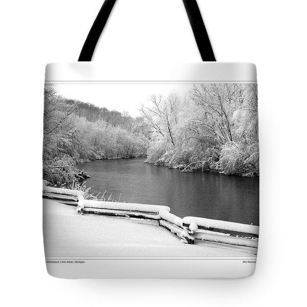 Nichols Arboretum #5 Tote Bag by Phil Perkins