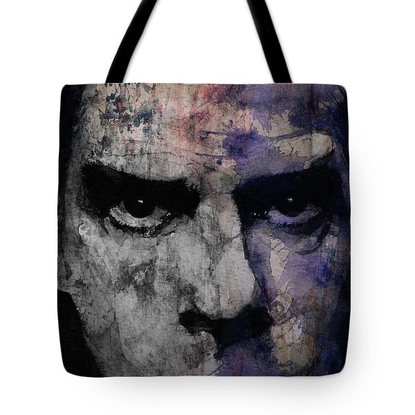 Nick Cave Retro Tote Bag by Paul Lovering