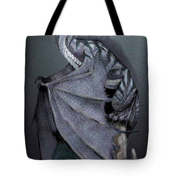 Nickel Dragon Tote Bag