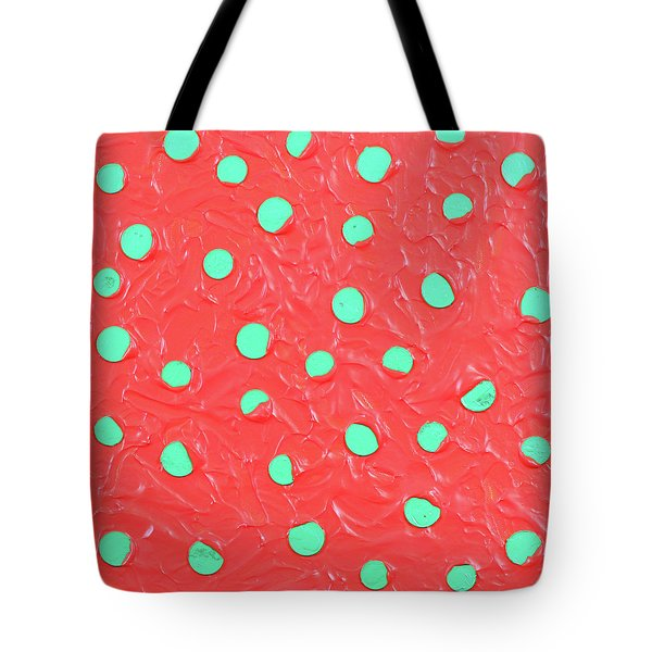 Tote Bag featuring the painting Nickels And Dimes by Thomas Blood