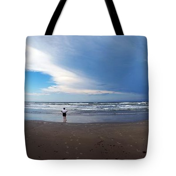 Nicki At Port Aransas Tote Bag