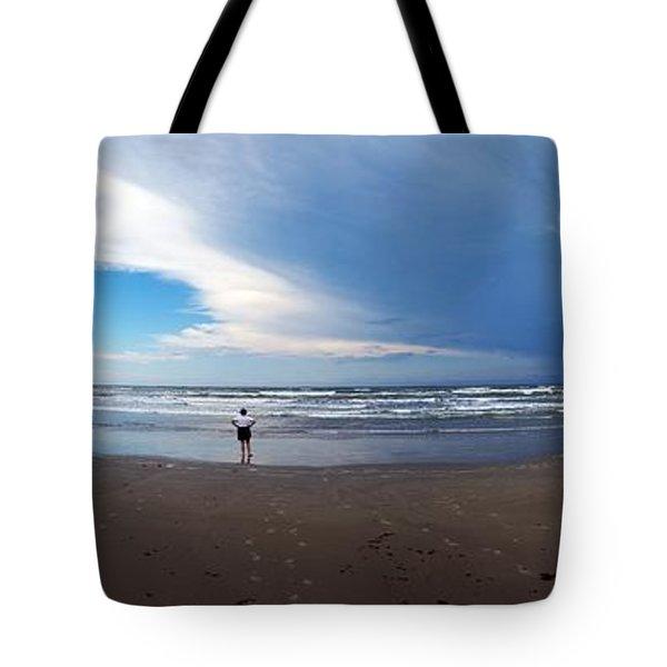 Nicki At Port Aransas Tote Bag