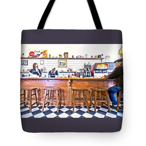 Nick's Diner Tote Bag
