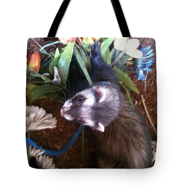 Nicky Wants This Flower Tote Bag