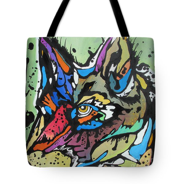 Nico The Coyote Tote Bag