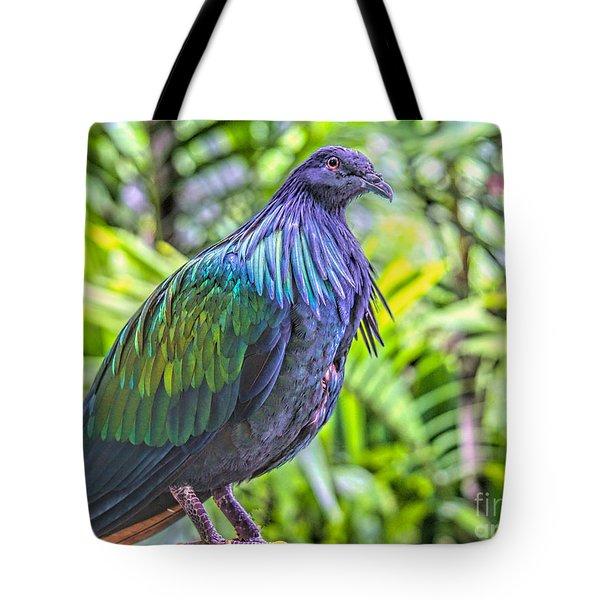 Nicobar Among Palms Tote Bag