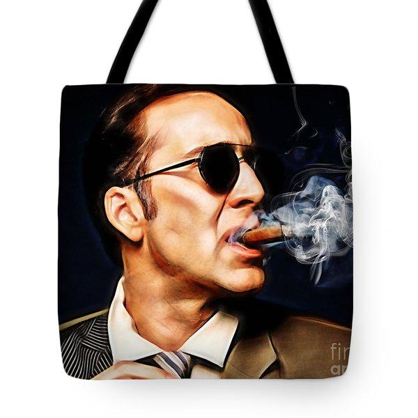 Nicolas Cage Collection Tote Bag