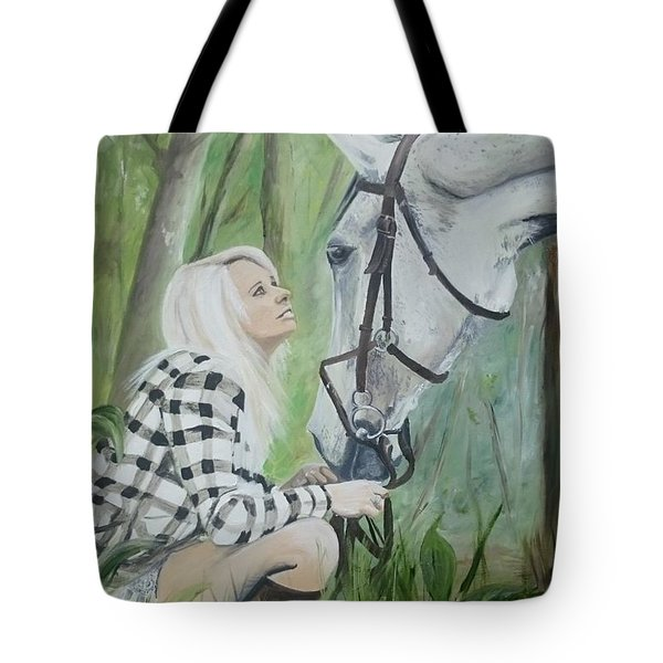 Nicole And Cellie Tote Bag