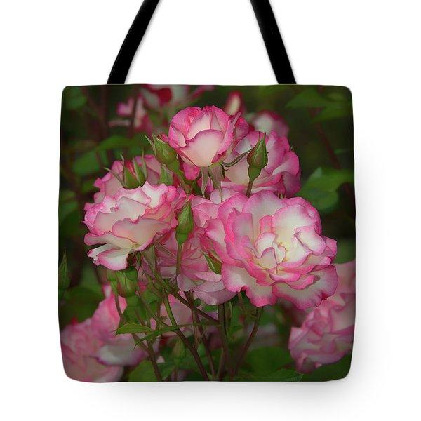 Nicole Roses Tote Bag