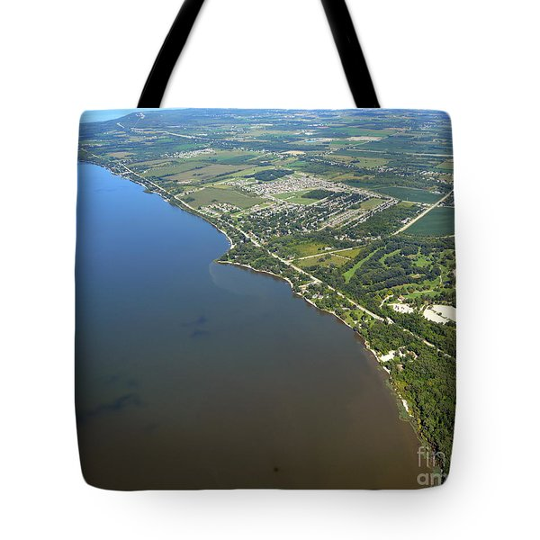 Tote Bag featuring the photograph Nicolet Drive by Bill Lang