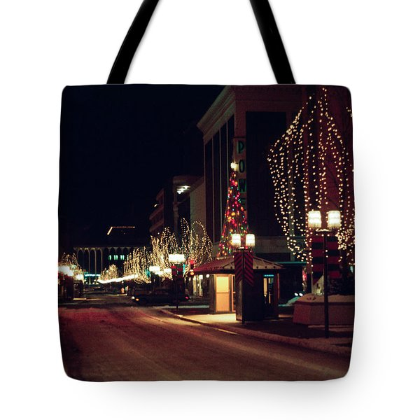 Nicollet Mall Christmas Tote Bag