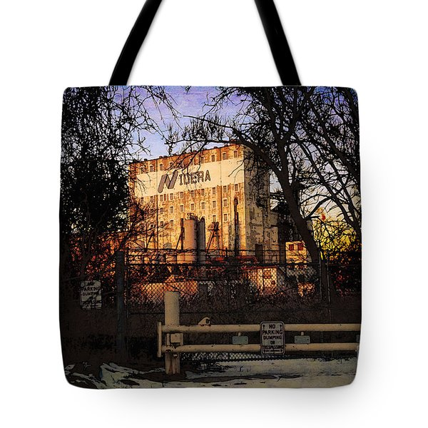 Tote Bag featuring the digital art Nidera by David Blank