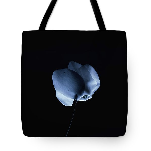 Night And A Blue Light Tote Bag