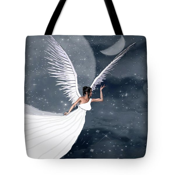 Night Angel Tote Bag