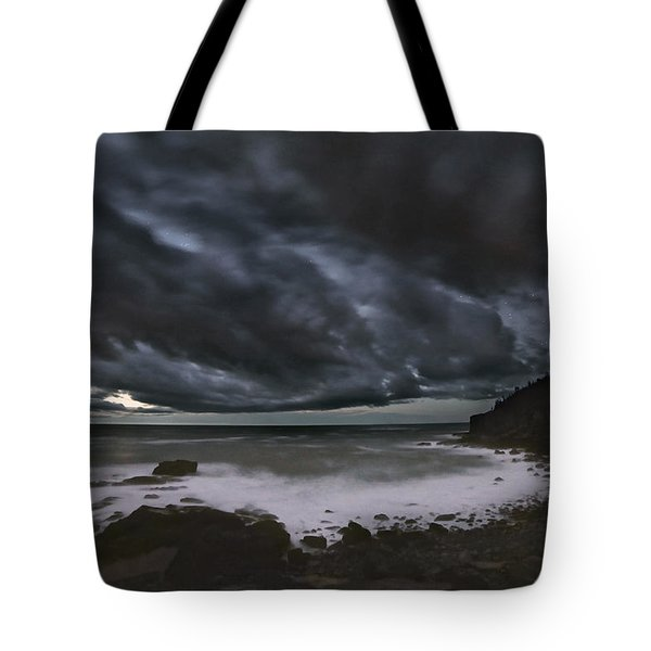 Night At Boulder Beach Tote Bag