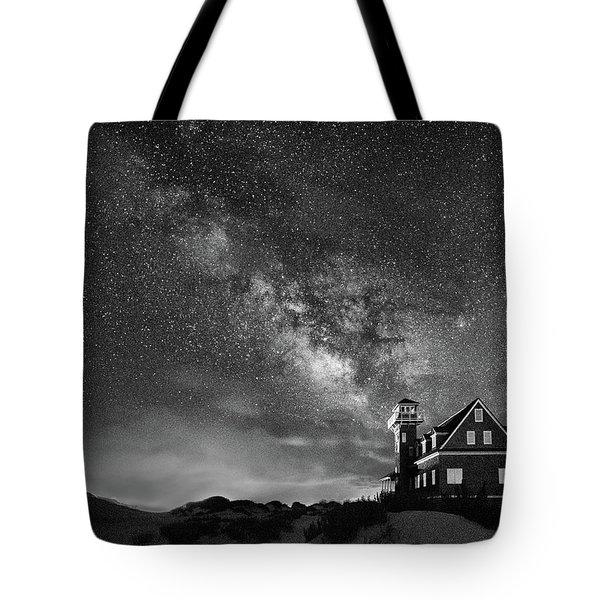 Night At The Station Tote Bag