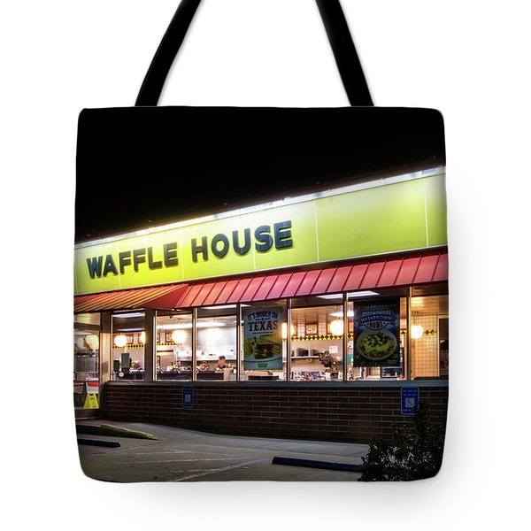 Night At Waffle House Tote Bag