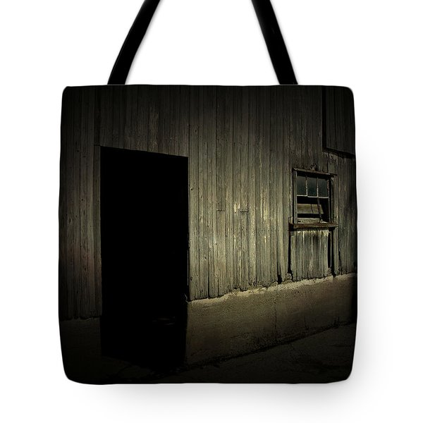 Night Barn Tote Bag by Cynthia Lassiter