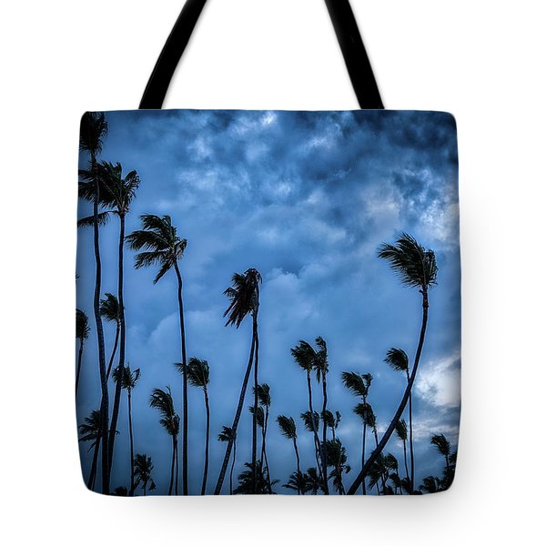 Night Beach Tote Bag